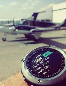 ساعتی هوایی